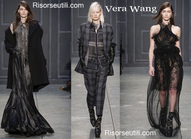 Fashion clothing Vera Wang fall winter 2014 2015