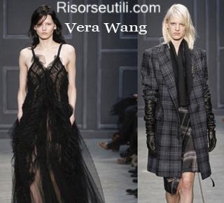 Fashion clothing Vera Wang fall winter 2014 2015 womenswear