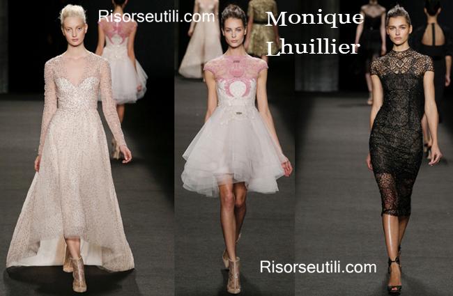 Fashion dresses Monique Lhuillier fall winter 2014 2015
