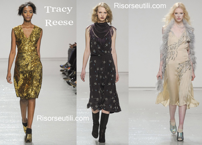 Fashion dresses Tracy Reese fall winter 2014 2015
