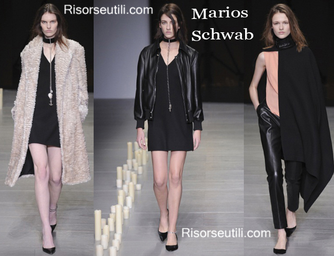Leather jackets Marios Schwab and furs Marios Schwab
