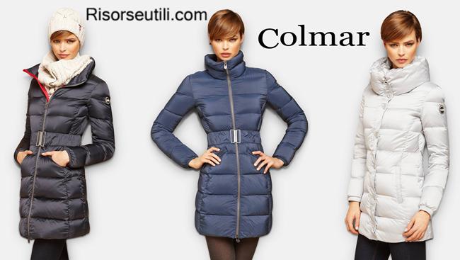 Down jackets long Colmar fall winter womenswear