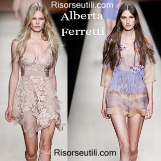 Dresses Alberta Ferretti spring summer 2015 womenswear