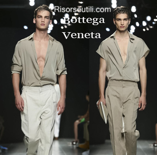 Dresses Bottega Veneta spring summer 2015 menswear
