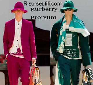 Dresses Burberry Prorsum spring summer 2015 menswear