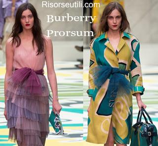 Dresses Burberry Prorsum spring summer 2015 womenswear