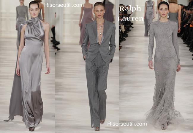 Fashion Clothing Ralph Lauren fall winter womenswear