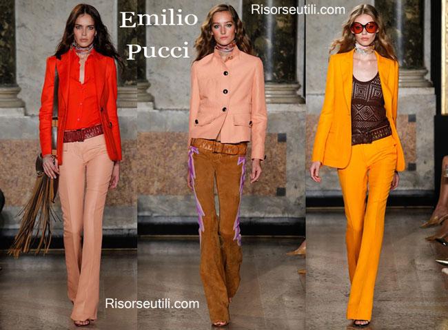 Accessories Emilio Pucci spring summer 2015