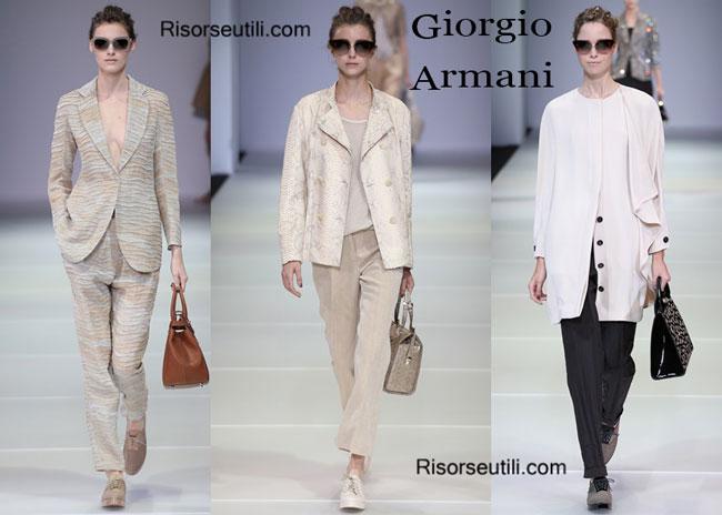 Accessories Giorgio Armani spring summer 2015