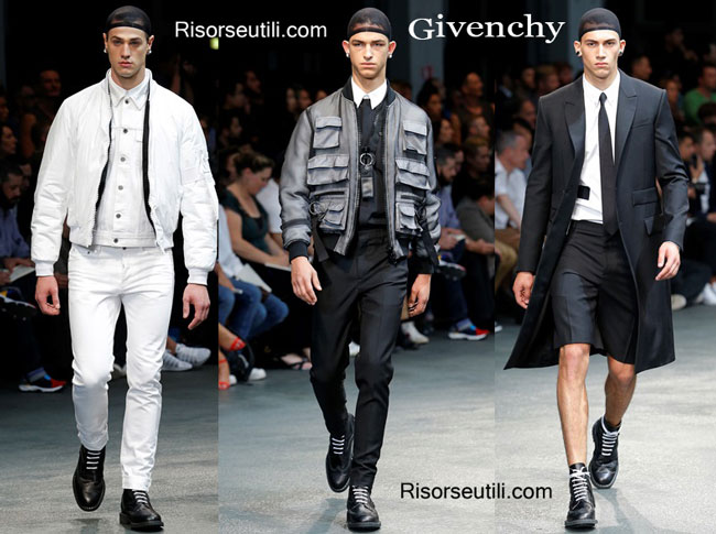 Accessories Givenchy spring summer menswear 2015