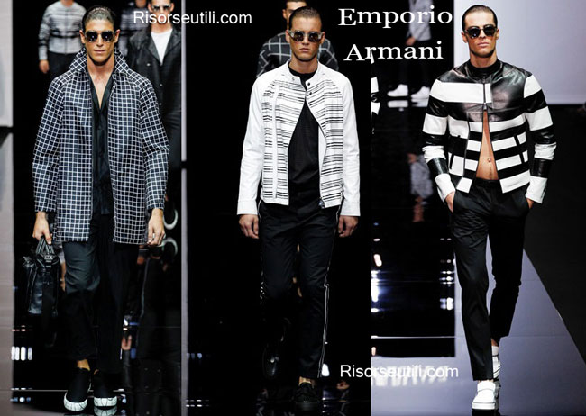 Clothing accessories Emporio Armani spring summer 2015