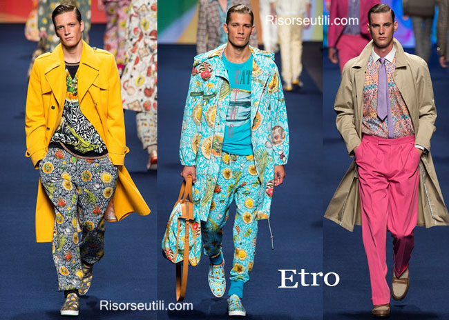 Clothing accessories Etro spring summer 2015