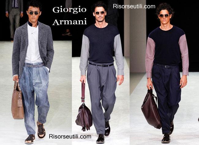 Fashion dresses Giorgio Armani spring summer 2015 menswear 93ad014b0ece4