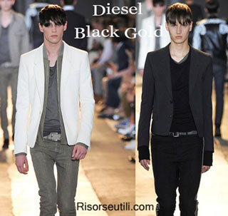 Dresses Diesel Black Gold spring summer 2015 menswear