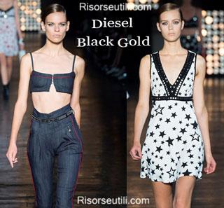 Dresses Diesel Black Gold spring summer 2015 womenswear