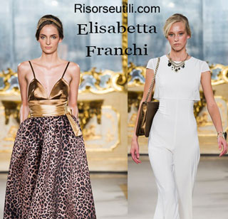 Dresses Elisabetta Franchi spring summer 2015 womenswear