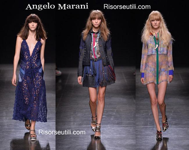 Fashion dresses Angelo Marani spring summer 2015
