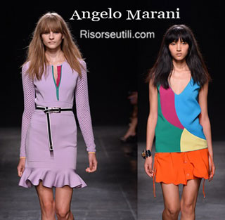 Fashion dresses Angelo Marani spring summer 2015 womenswear