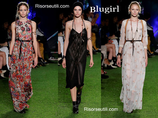 Fashion dresses Blugirl spring summer 2015