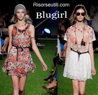 Fashion dresses Blugirl spring summer 2015 womenswear