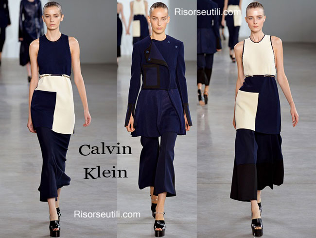 Fashion dresses Calvin Klein spring summer 2015