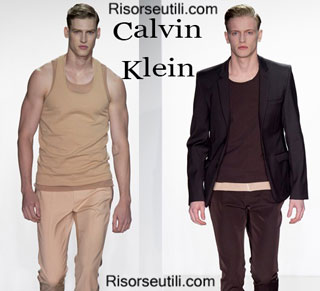 Fashion dresses Calvin Klein spring summer 2015 menswear