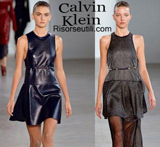Fashion dresses Calvin Klein spring summer 2015 womenswear