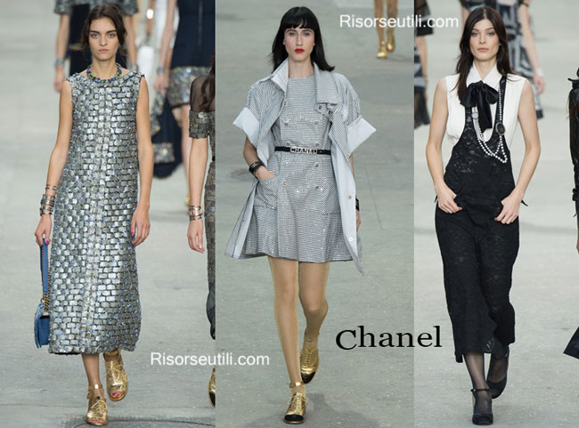 Fashion dresses Chanel spring summer 2015
