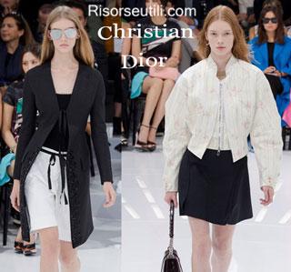 Fashion dresses Christian Dior spring summer 2015 womenswear