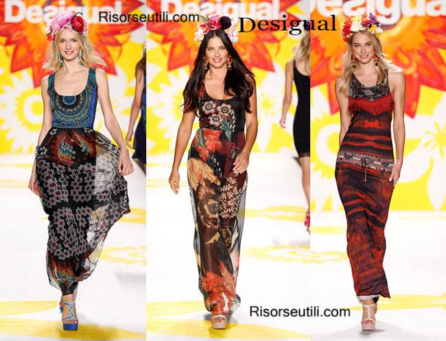 Fashion dresses Desigual spring summer 2015