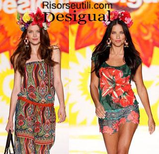 Fashion dresses Desigual spring summer 2015 womenswear