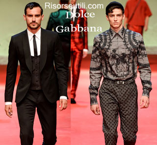 Fashion dresses Dolce Gabbana spring summer 2015 menswear