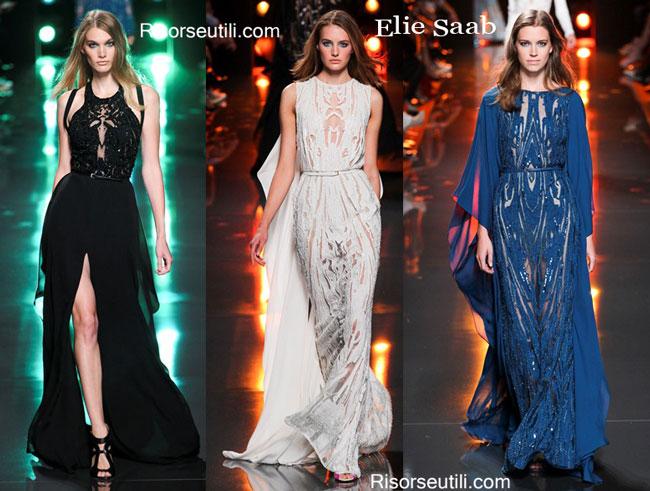 Fashion dresses Elie Saab spring summer 2015