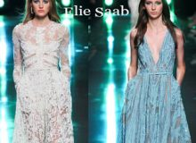 Fashion dresses Elie Saab spring summer 2015 womenswear