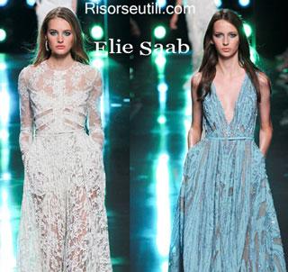 Fashion dresses Elie Saab spring summer 2015 womenswear