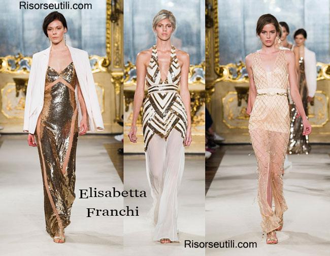Fashion dresses Elisabetta Franchi spring summer 2015