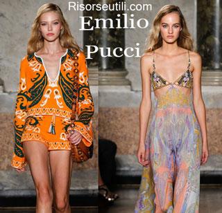 Fashion dresses Emilio Pucci spring summer 2015 womenswear