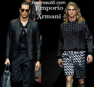 Fashion dresses Emporio Armani spring summer 2015 menswear