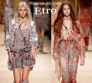 Fashion dresses Etro spring summer 2015 womenswear