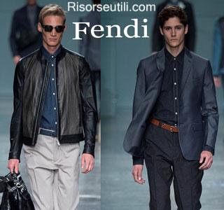 Fashion dresses Fendi spring summer 2015 menswear