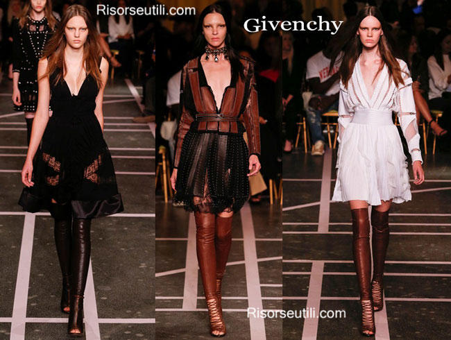 Fashion dresses Givenchy spring summer 2015