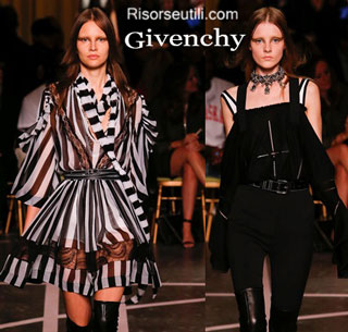 Fashion dresses Givenchy spring summer 2015 womenswear
