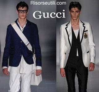 Fashion dresses Gucci spring summer 2015 menswear