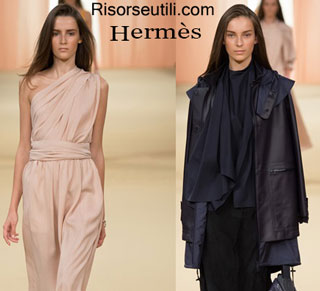 Fashion dresses Hermes spring summer 2015 womenswear