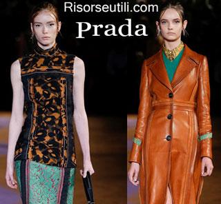 Fashion dresses Prada spring summer 2015 womenswear