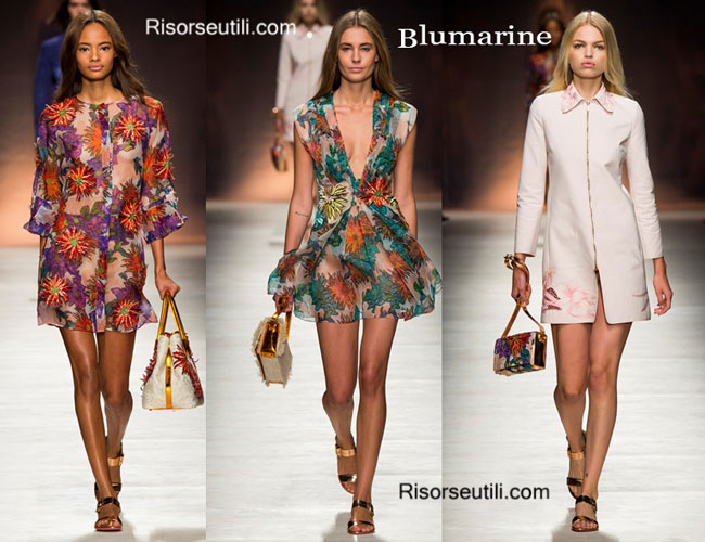 Handbags Blumarine and shoes Blumarine 2015