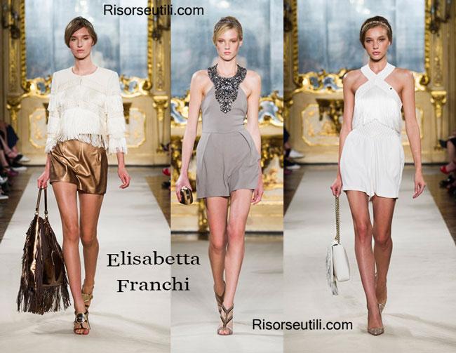 098cb9d739 Dresses Elisabetta Franchi spring summer 2015 womenswear