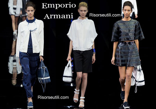 Handbags Emporio Armani and shoes Emporio Armani 2015