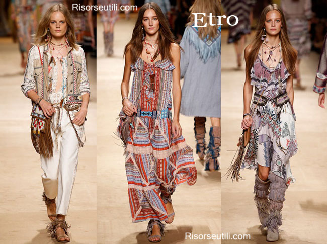 Handbags Etro and shoes Etro 2015