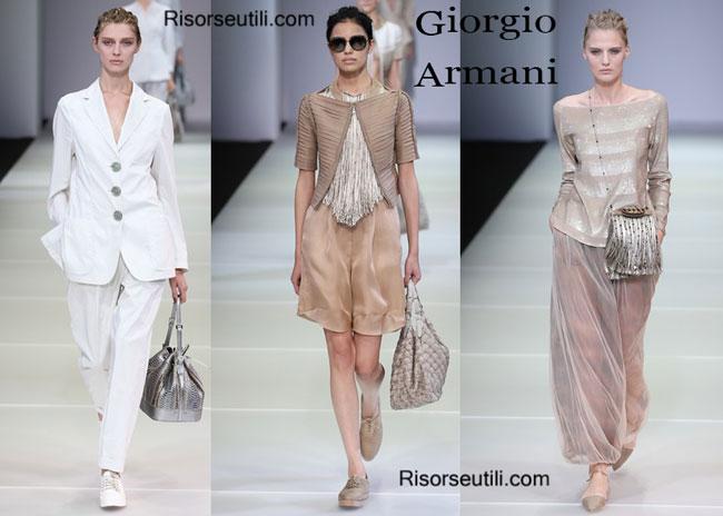 Handbags Giorgio Armani and shoes Giorgio Armani 2015